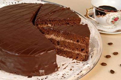 Главная Рецепты Выпечка , Торты Простой торт , Торт без...