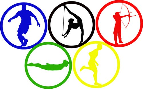 Картинки по запросу олимпийские кольца